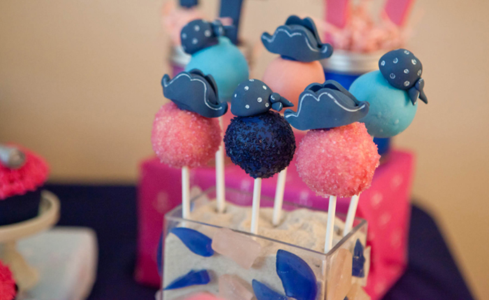 Pirate Cake Pops Mermaids and Pirates Guest Dessert Feature