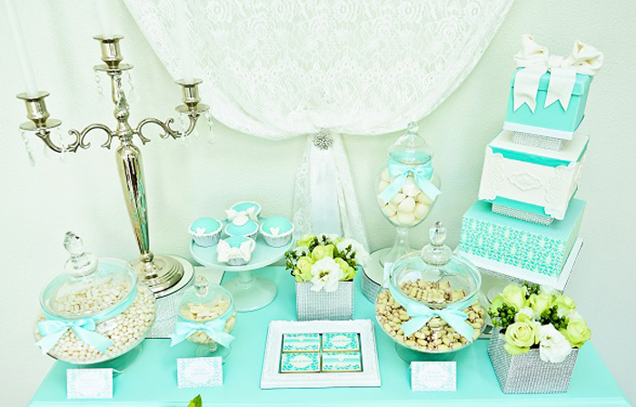 Tiffany Dessert Table Tiffany Blue Dessert Table