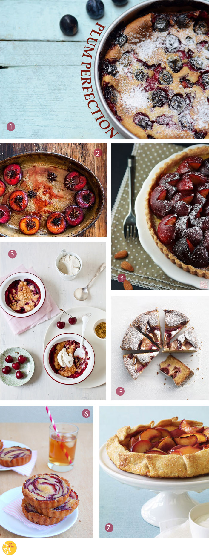 Plum Perfection4 Plum Perfection {18 Plum Desserts to Get Your Juices Flowing}