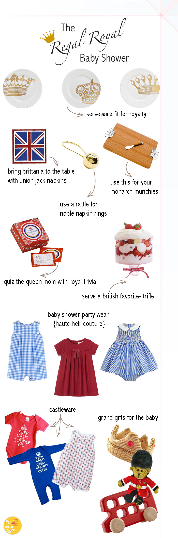 how to throw a regal royal baby shower amy atlas events