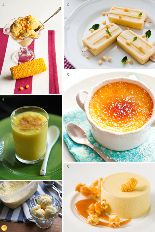 sweet corn summer desserts End of Summer Fresh Sweet Corn Custard Recipe