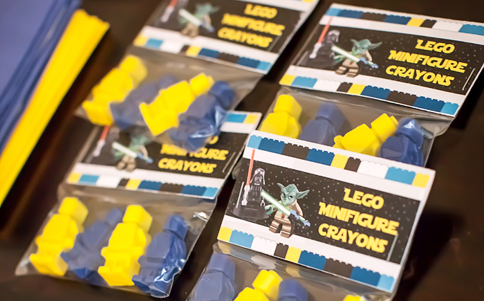 Lego Crayons Legos And Lightsabers Party: Part II