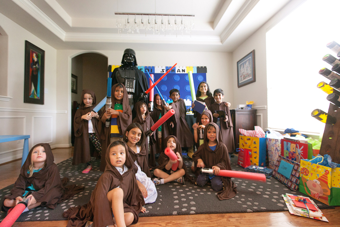LightSabers Legos And Lightsabers Party: Part II