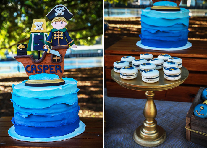 Pirate Party for Kids | Pirate Cake