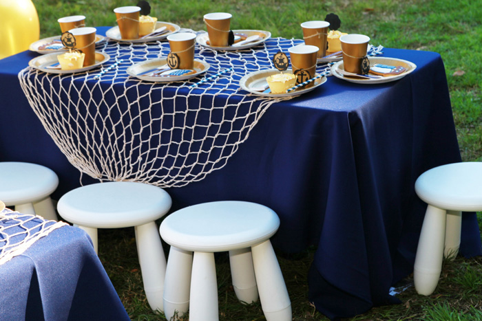 Pirate Party for Kids | table decor
