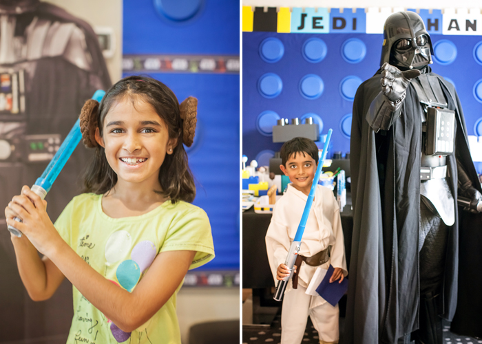 Princess Leia Legos And Lightsabers Party: Part II