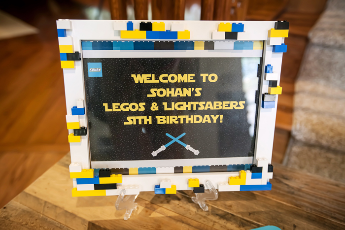 Star Wars Signage Legos And Lightsabers Party: Part II