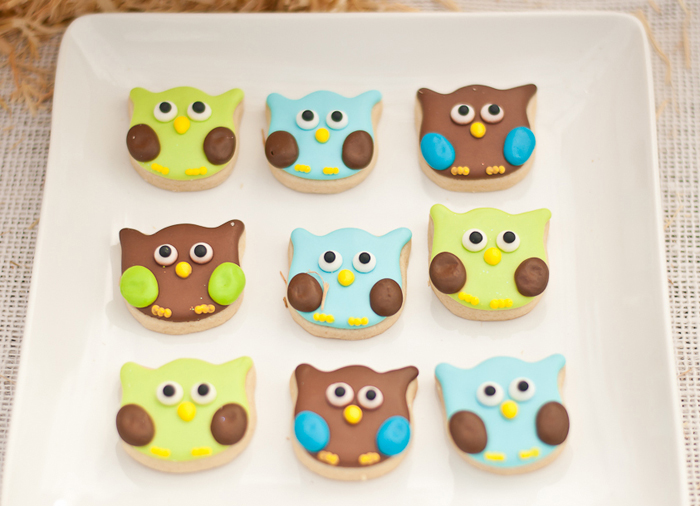 Pumpkin Party | Owl Cookies