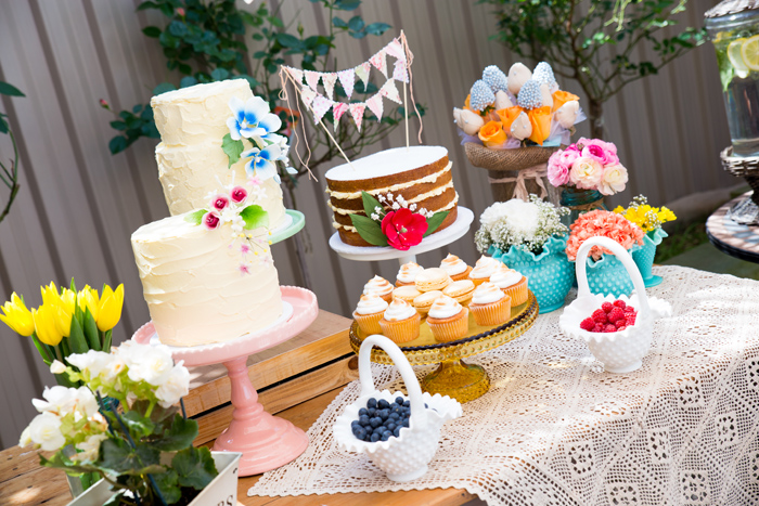 Beautiful Cakes Beautiful Garden Baby Shower Guest Dessert Feature