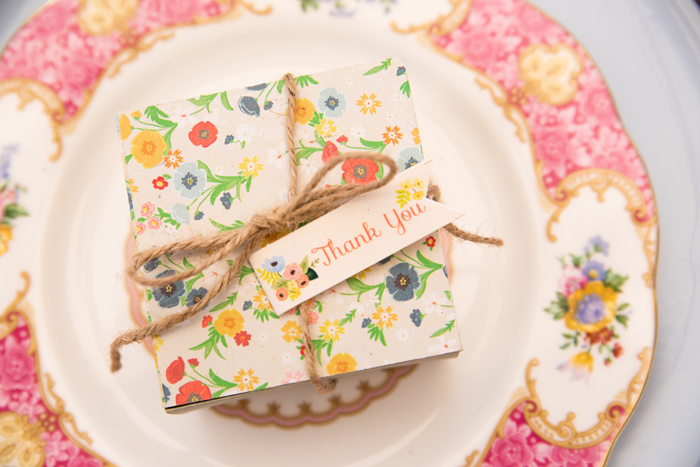 Favor Boxes Beautiful Garden Baby Shower Guest Dessert Feature