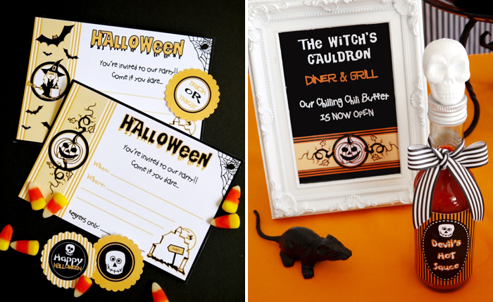 Halloween Party Printables Chilling Halloween Party