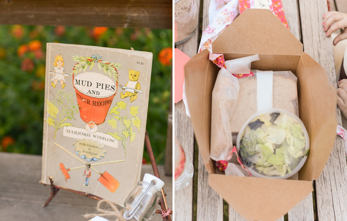 Mud Pie Book Floral Baking Party Guest Dessert Feature