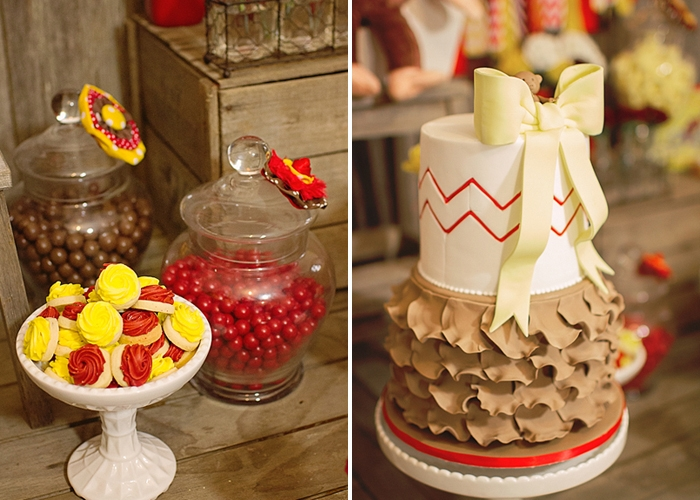 Red & Yellow Curious George Party