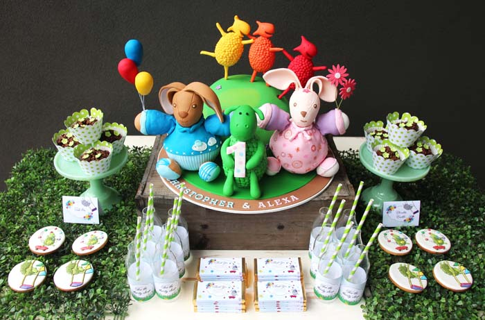 green-sheep-party