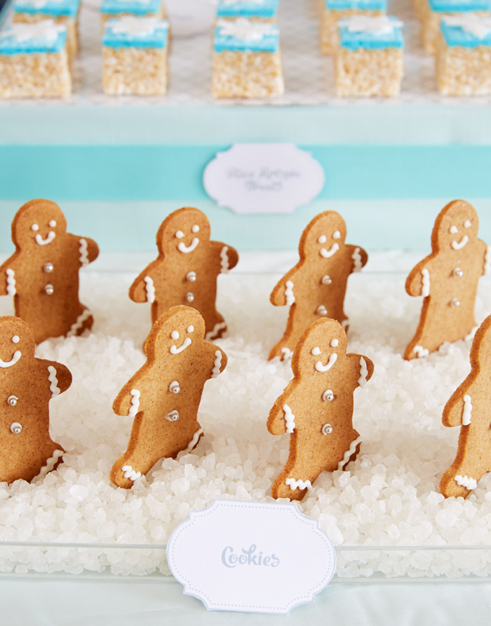 Gingerbread Cookies Winter Wonderland Party