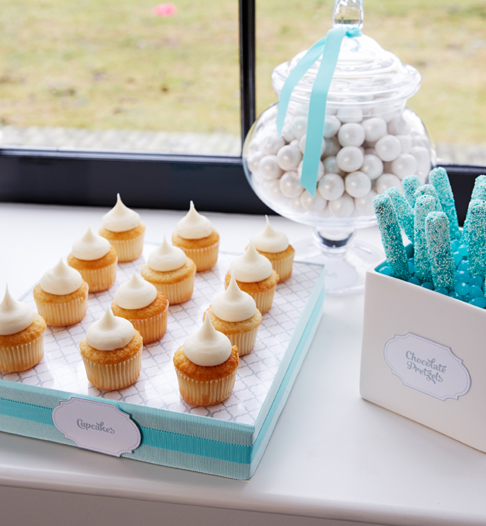 Vanilla Cupcakes Winter Wonderland Party