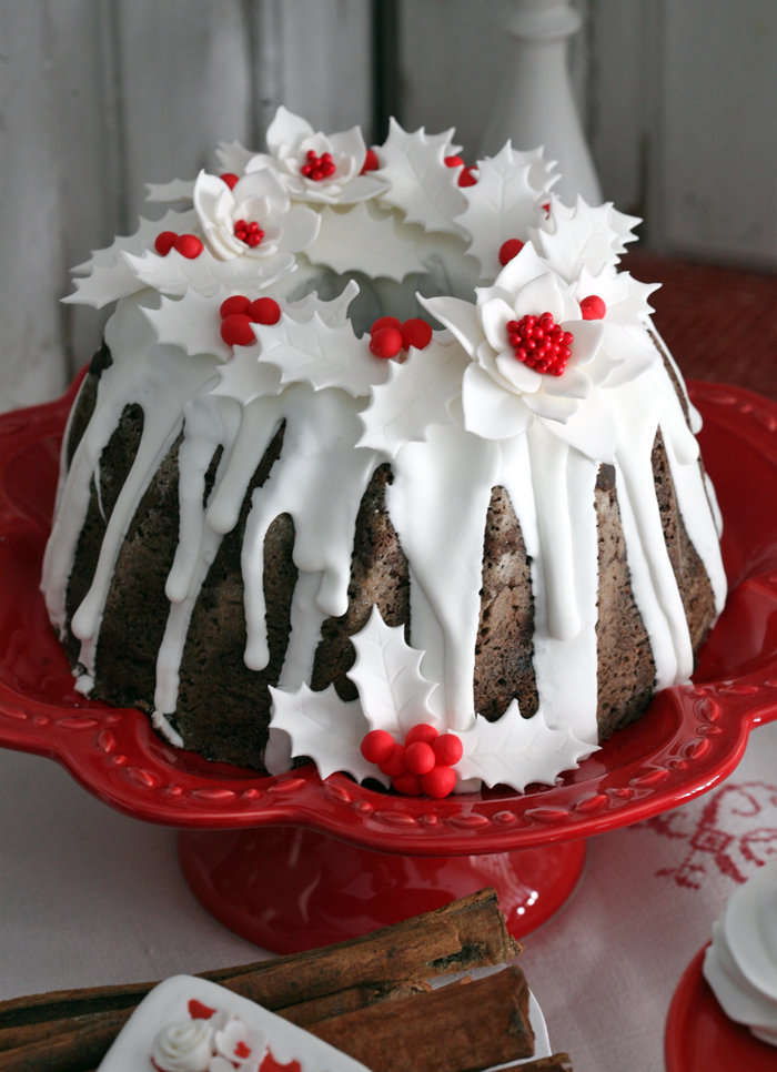 holiday cake Red Holiday Guest Dessert Feature