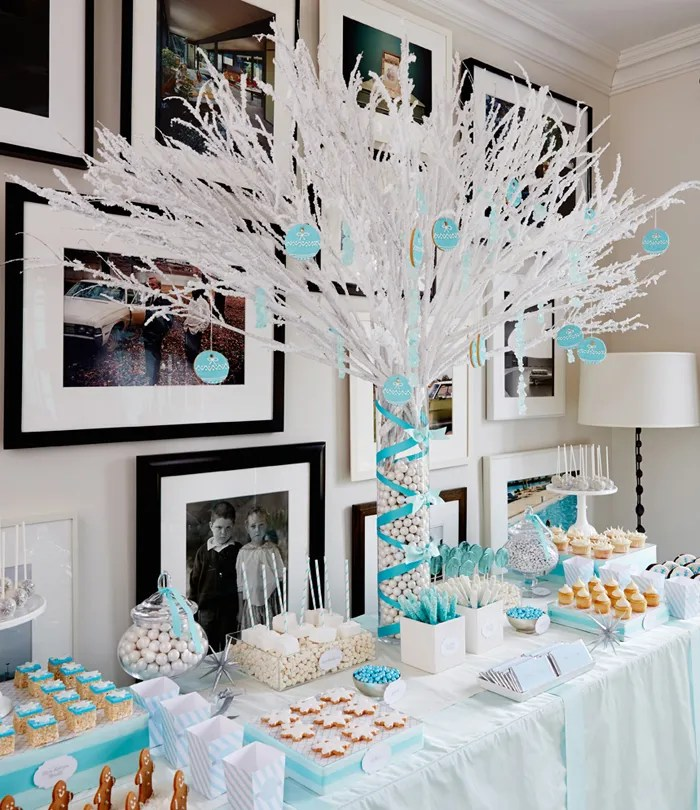Google Images Christmas Table Decorations: Winter Wonderland Party