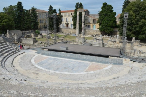 The Roman Theatre of Arles © Carole Raddato