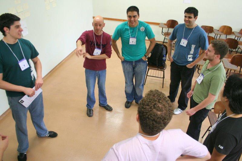 """Participação no """"Encontro Ágil 2008"""""""