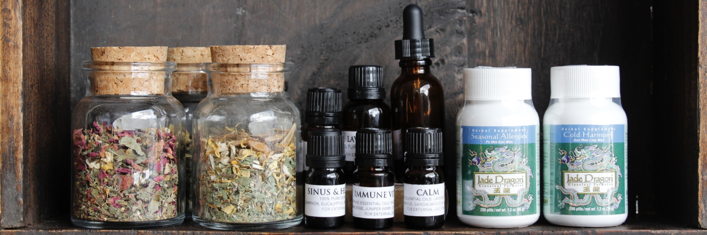 Holistic Remedies Medicine Cabinet