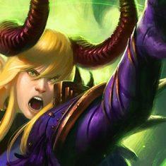 Valeria Silvewind the Warlock