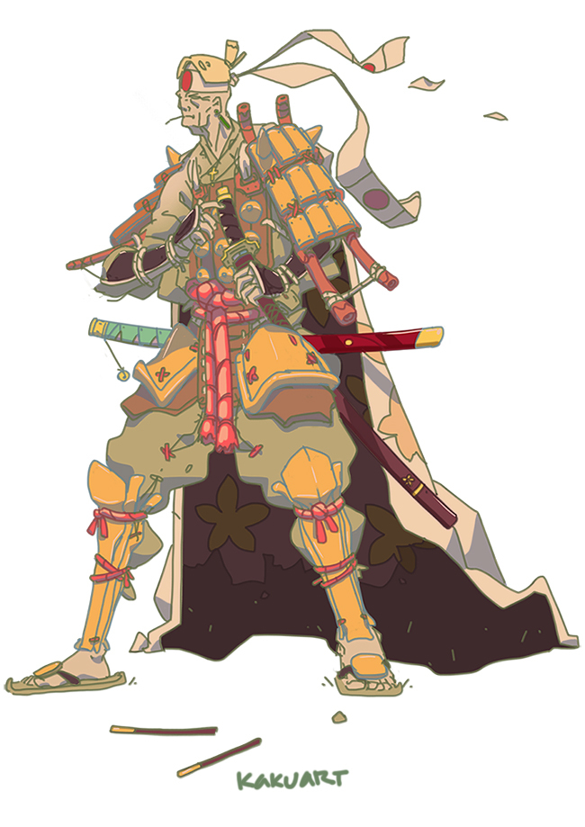 Caped Samurai