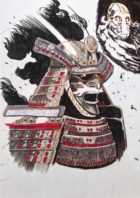 Samurai Day 9 by Konrad Langa