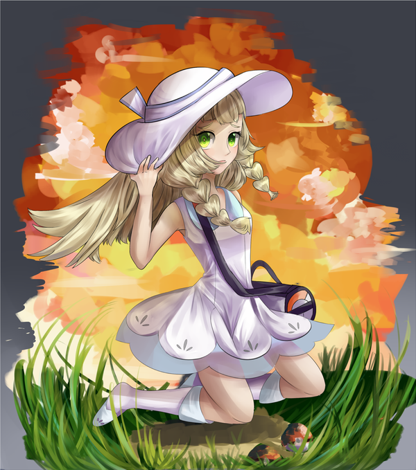 Pokemon Sun and Moon: Lillie by AriSotniaia