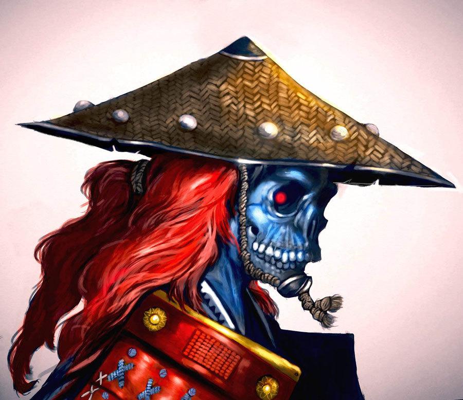 Demon Samurai by Behnam Balali