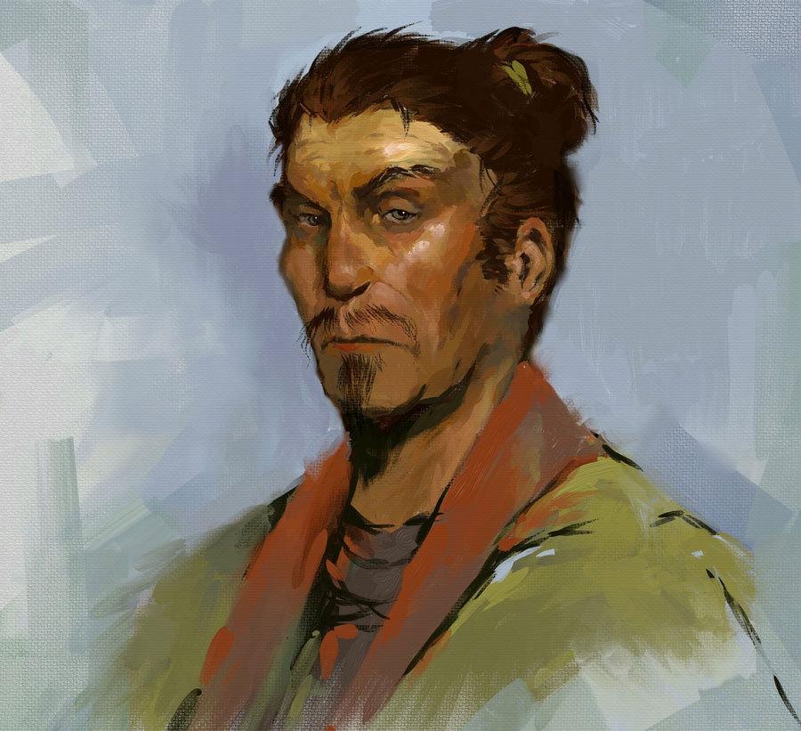 Digital Painting Sketch 03 by Behnam Balali