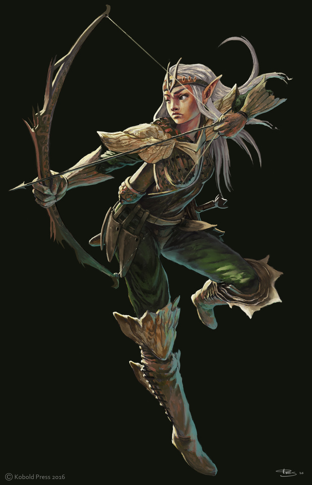 Elven Archer by Ørjan Svendsen