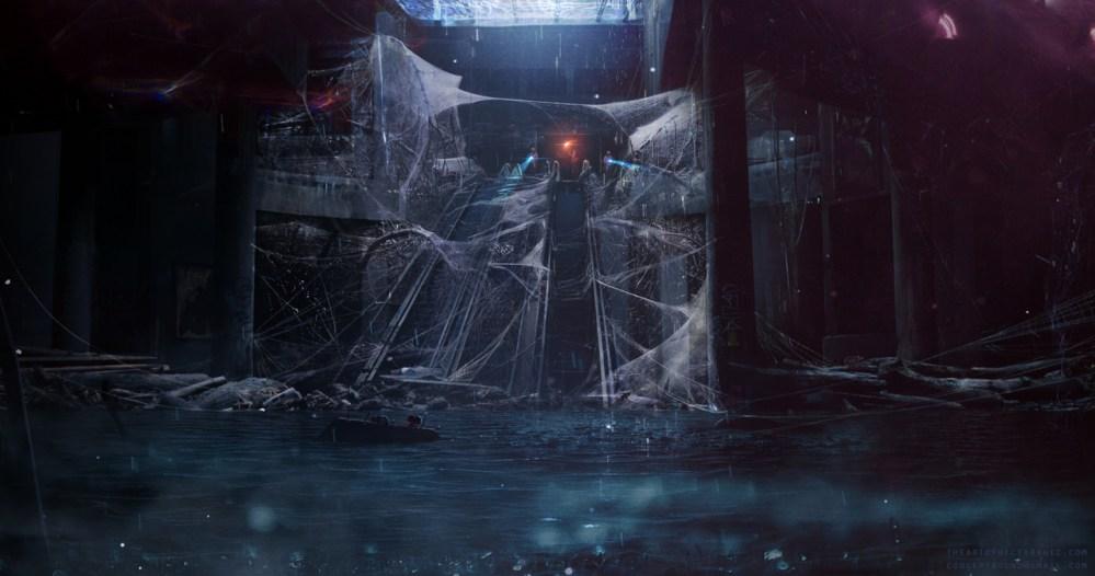 Spider Lair by Hector Ruiz