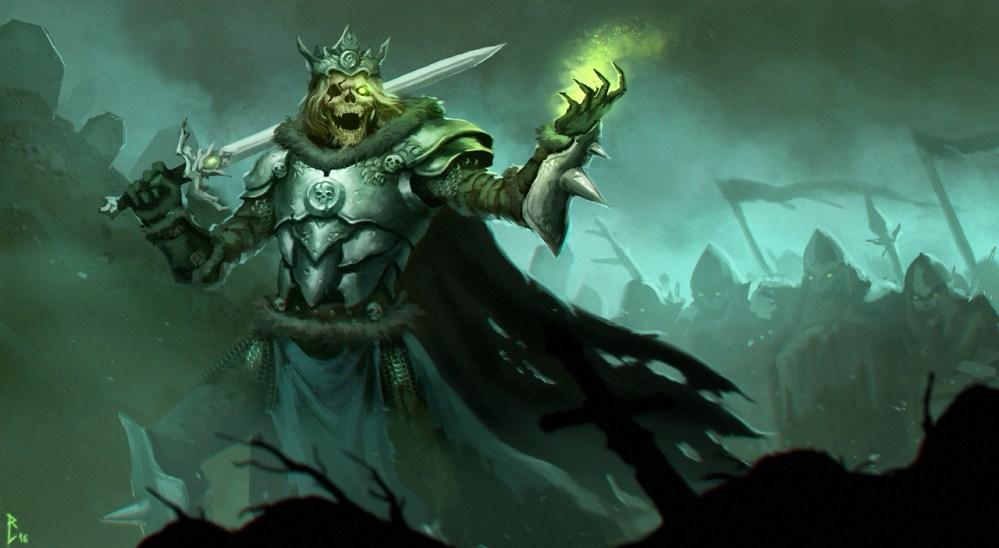 Undead Warlord by Rastislav Le
