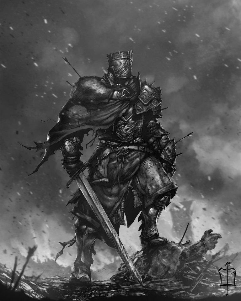 Knight by Çağlayan Kaya Göksoy