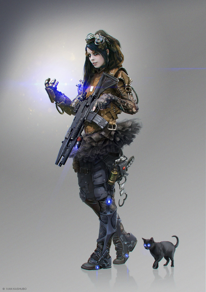Soldier F Concept by Ivan Kashubo