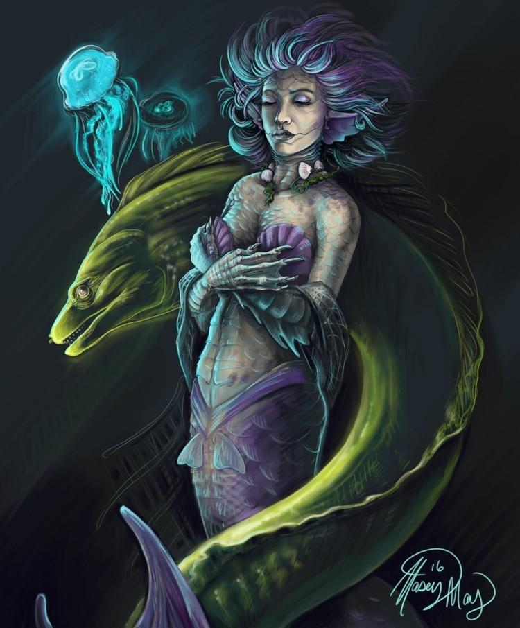 Mermaid by Kasey May