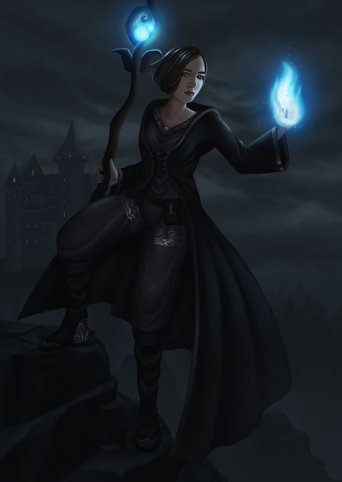 Fantasy Self Portrait by Laura Bermúdez