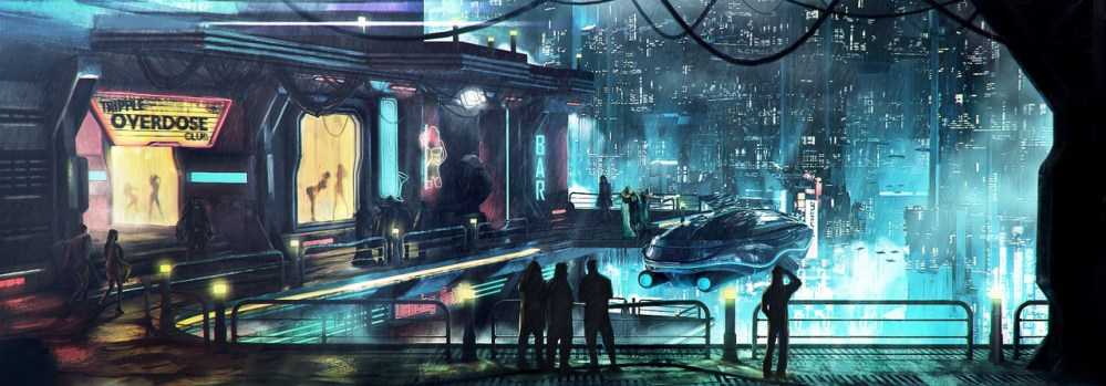 Cyberpunk District by Mac Drabik
