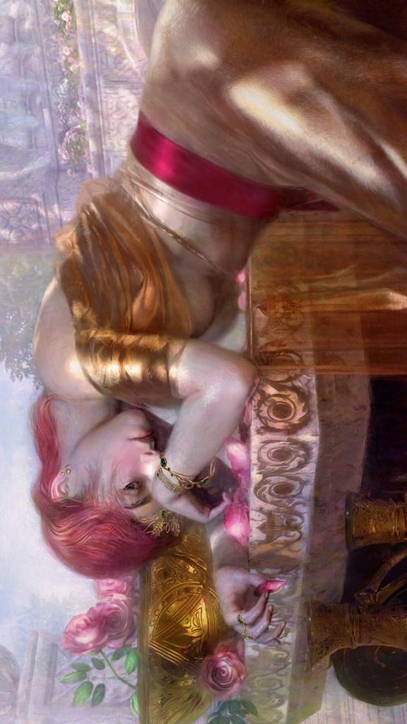 Lilian in Gold