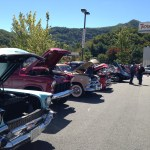 classic car lineup at the wnc powerhouse waynesville chevy 3rd disabled american veterans car show