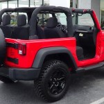 2014 Jeep Wrangler Willys Wheeler passenger side exterior view