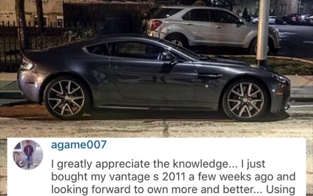 Testimony from an Exotic Car Hacks user