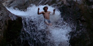 canyoning cascade