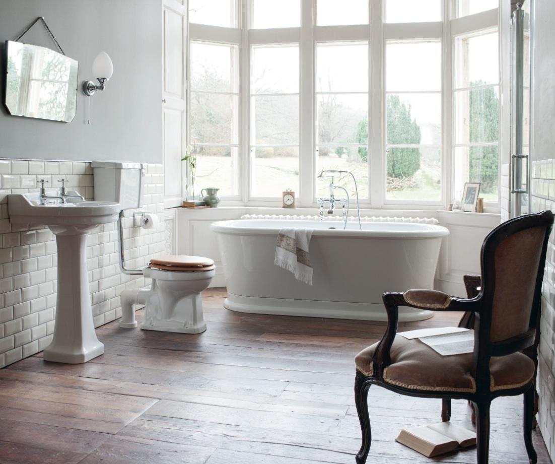 Burlington porta lo stile inglese a cersaie 2014 bagno - Mobili in stile inglese ...