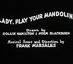 Lady, Play Your Mandolin! (1931) - Merrie Melodies