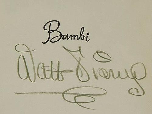 Disney Signature 1941