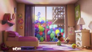 Lotso and Luxo in Up
