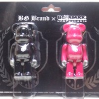 I LOVE BG 2pc ベアブリック(BE@RBRICK)