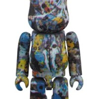 Jackson Pollock Studio 100% ベアブリック (BE@RBRICK) [発売]